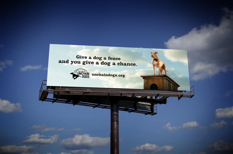 Coalition to Unchain Dogs - Billboard